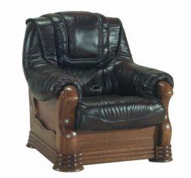 Ādas krēsls Aneta II