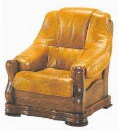 Ādas krēsls Bozena