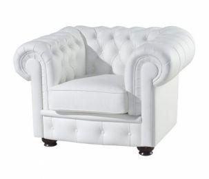 Ādas krēsls Chesterfield