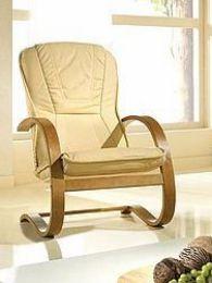 Ādas krēsls Finka