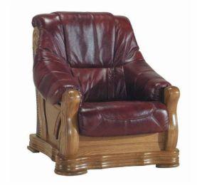 Ādas krēsls Fryderyk