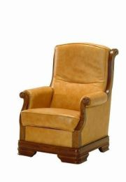 Ādas krēsls Gustaw