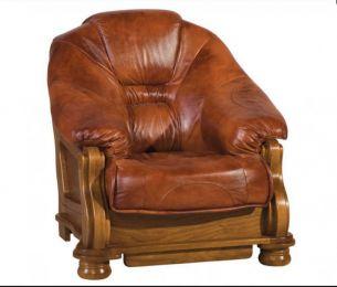 Ādas krēsls Lord