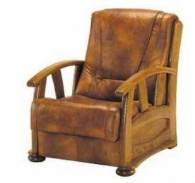Ādas krēsls Alicja II fotel