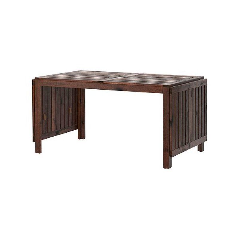 ÄPPLARÖ (saliekams galds, brūns)