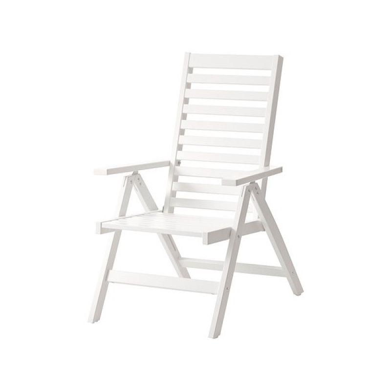 ÄPPLARÖ Atpūtas krēsls,( balts)