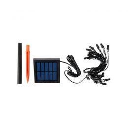 SOLARVET 12 LED lukturi, dārzam ar saules bateriju
