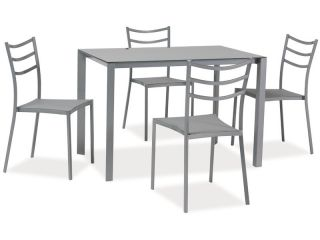 Galds + 4 krēsli Kendo