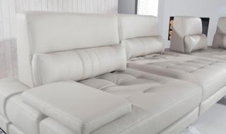 Ādas dīvāns MEDIOLAN