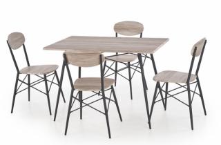 Galds +4 krēsli Kabir