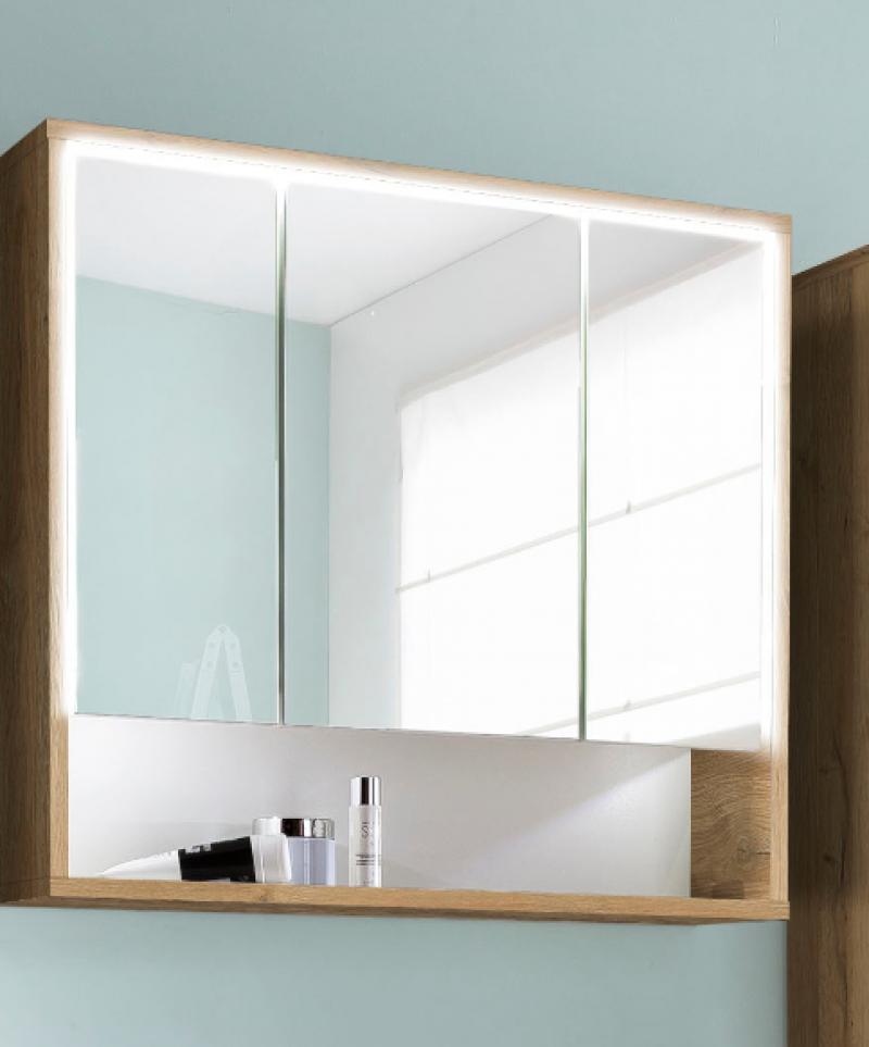 Skapītis virs izlietnes ar spoguli Stella 51