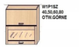 Skapītis W1P1SZ40;50;60;80 AMANDA