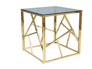 Žurnālu galdiņš ESCADA B / zelts