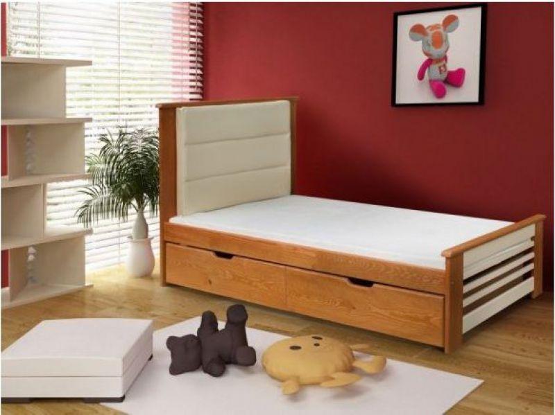 Bērnu gulta Amelia 204x97 krās.