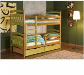 Bērnu divstāvu gulta Jakub II krās.