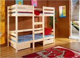 Bērnu gulta Bartosz krās.