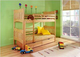 Bērnu divstāvu gulta Nikodem