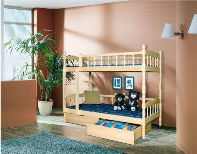 Bērnu divstāvu gulta Igor
