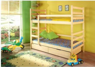 Bērnu divstāvu gulta Daniel