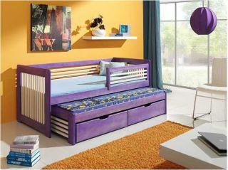 Bērnu gulta Anatol krās.