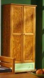 Plauktu skapis Komo (ar durvim) krās.