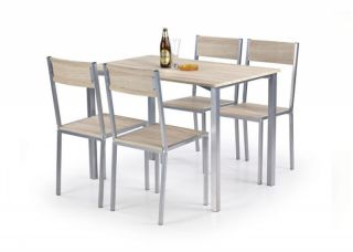 Galds+4 krēsli Ralph