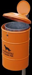 suņu ekskrementu urna 3