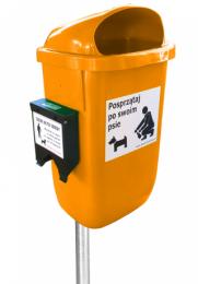 suņu ekskrementu urna 4