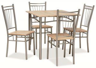 Galds + 4 krēsli Fit