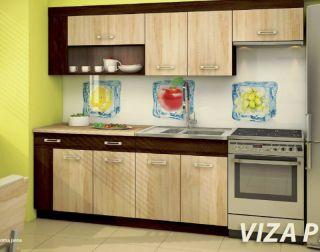 Virtuves komplekts Viza Plus sonoma
