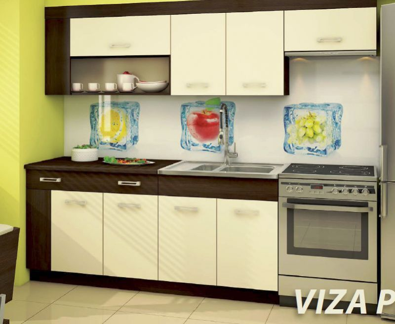 Virtuves komplekts Viza Plus wenge