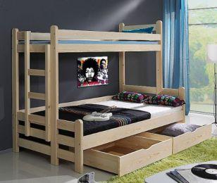 Bērnu gulta Beniamin II krās.