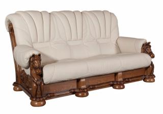 Ādas dīvāns Mustang 3n