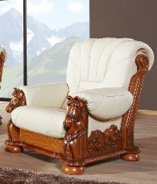 Ādas krēsls Mustang