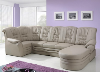 Stūra dīvāns - gulta Donata